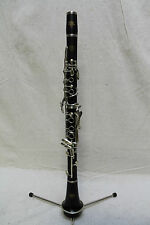 Strasser Made By SML Paris Wooden Clarinet w/ Solid Nickel-Silver Keys Repadded