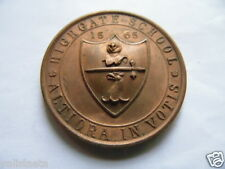 ROYAUME-UNI : UNITED KINGDOM OLD MEDAL HIGHGATE SCHOOL 1565 MEDAILLE SCOLAIRE