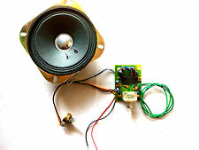 FM Radio Board with Inbuilt Amplifier + Speaker and Volume Control