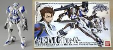 Ryo's ALEXANDER Type-02 Model Kit 1/35 Code Geass Akito the Exiled Bandai New