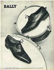 PUBLICITE ADVERTISING 095  1961  BALLY  chaussures homme TANAGRA