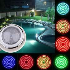 US Rgb 7 Color Led Underwater Swimming Pool Light Lamp Remote Control & 558 12V