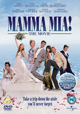 MAMMA MIA - THE MOVIE - DVD - REGION 2 UK
