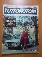 TUTTOMOTORI 5/1965 cover Gaia Germani