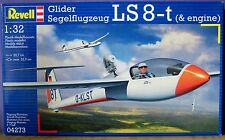 REVELL: 1:32 SCALE GLIDER SEGELFLUGZEUG LS 8-T (& ENGINE) NEW