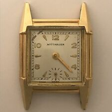 Vintage Gold Plated Wittnauer Manual Wind Watch - 17 Jewel