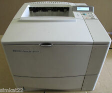 HP LaserJet 4100N Black & White Desktop Printer Office Equipment Mono C8050A