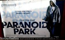 Cinema Poster: PARANOID PARK 2007 (Quad) Gus Van Sant Gabe Nevins Daniel Liu