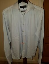 "men's Gieves & Hawkes Saville Row shirt 16.5"" / 42 cm french cuff spread collar"
