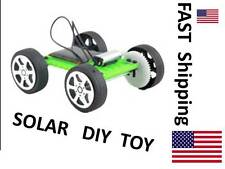 Mini Solar Toy DIY Car Children Educational Puzzle IQ Gadget Hobby Robot M2