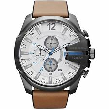 NEW DIESEL DZ4280 MENS MEGA CHEIF CHRONOGRAPH WATCH - 2 YEAR WARRANTY