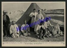 Palästina Asienkorps Rotes Kreuz Zeltlager Fräulein Dr. Koch Osmanen Eiko 1915
