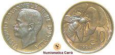 VITTORIO EMANUELE III - 10 CENTESIMI APE 1924 FDC ROSSO - SAVOIA (nc1188)