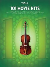 101 Movie Hits For VIOLA Learn to Play Pop Rock Chart Film Songs MUSIC BOOK