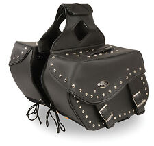 Motorcycle Water Resistant  Saddle Bags - Harley Bike List Below - 13 x 10 x 6""