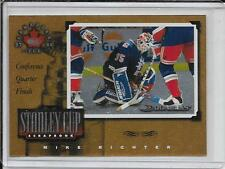 97-98 Donruss Canadian Ice Mike Richter Stanley Cup Scrapbook # 15