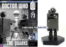 OFFICIAL Doctor Who Statuina collezione #73 Quark Eaglemoss DOMINATORI (71 72)