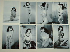 BETTIE PAGE JOB LOT 15 REPRINT STOCKINGS  PHOTOGRAPHS B/W HOT SEXY ROCKABILLY
