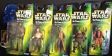 STAR WARS POWER OF THE FORCE GREEN CARD WAVE 5 5 FIGURES YAK-FACE NIEN NUNB R4