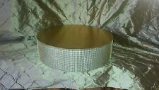 "CAKE STAND, GOLD 16 or 18"" ROUND OR SQUARE"