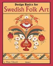 Design Basics for Swedish Folk Art, NEW BOOK