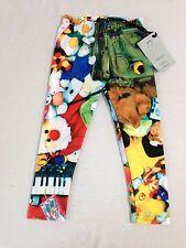 Zara Terez Kids Toyz Capri Leggings Little Girls' Size M NWT!