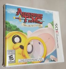 Adventure Time: Finn and Jake Investigations (Nintendo 3DS, 2015) - New & Sealed