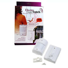Wireless PIR Motion Sensor Driveway Patrol Garage Security Alert Alarm System