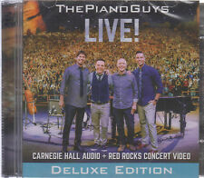 CD - The Piano Guys CD / DVD LIVE ! Deluxe Edition USA Seller - FAST SHIPPING !