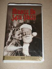 Miracle On 34th Street VHS Black And White 1972