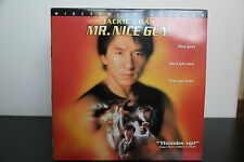 MR NICE GUY LASERDISC WS NTSC CLV Extended Play JACKIE CHAN id4256L