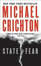 BUY 2 GET 1 FREE State of Fear by Michael Crichton (2005, Paperback)