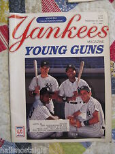 (2) Items: 1990 Yankees Magazine & 1973 Questions and Answers About Baseball.
