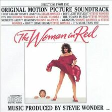 THE WOMAN IN RED--Soundtrack--CD--Stevie Wonder