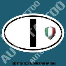 ITALY COUNTRY CODE DECAL STICKER CAR TRUCK RALLY EURO STYLE DECLS STICKERS