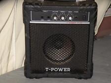 """T-Power TP100 Electric Guitar Amplifier black color 13"""" x 11"""" x 7"""""""