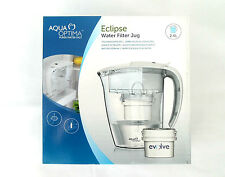 Aqua Opitma Eclipse Water Filter Jug 30 Day Evolve Filter Pure CLEARANCE !!