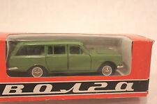 green wagon 1:43scale diecast model russian ussr cccp vintage Volga gaz 24-2 box