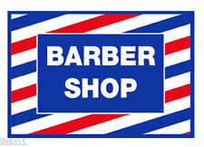 "Barber Shop Window SC -9014 Advertising Decal, 17-1/2""L x 12""W"