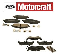 Crown Victoria Town Car Set of Front & Rear Brake Pads Motorcraft BR931B BR932B