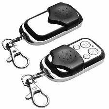 2 x Universal Cloning Remote Control Key Fob for Car Garage Door Gate 433.92mhz