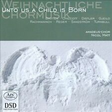 Britten / Rachmaninoff / Reger / Matt - Unto Us A Child Is Born [SACD New]