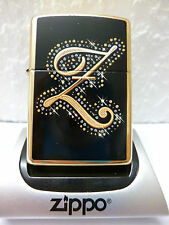 Zippo Feuerzeug Z Sparkle Brass high polished