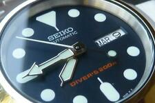 "Brand New Seiko ""Desk Dive"" Dress Watch Mod w/ new SKX007 SKX009 parts"