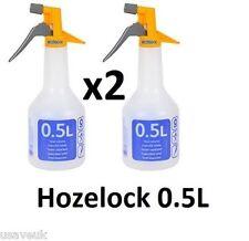 2 x Hozelock 4120 Trigger Sprayer Spraymist Plant Spray Bottle 550ml
