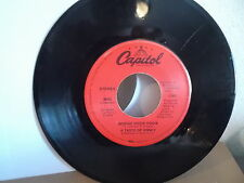 A TASTE OF HONEY Capitol 45 Record 4565 World Spin & Boogie oogie oogie