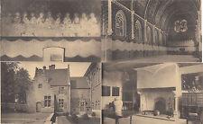 Lot 4 cartes postales anciennes BELGIQUE GAND GENT musée archéologique abbaye 3