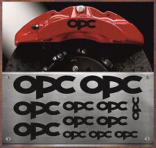 12x OPC étrier autocollant sticker chaleur résistant aux film OPEL opc-12-p3-w