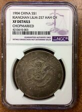 {BJSTAMPS} China, Kiangnan 1904, Silver $ L&M-257 (HAH CH) NGC XF details chops