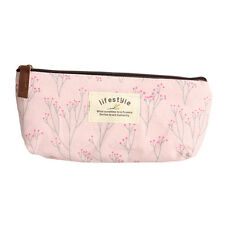 Countryside Style Fabric Floral Pen Pencil Bag Case Stocking Filler Gift